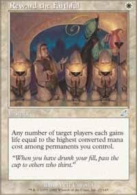 Magic: the Gathering - Reward the Faithful - Scourge