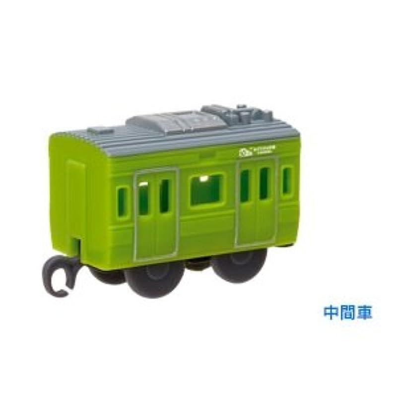 【#-117】녹색(미도리)의 야마노테선50주년 SPE231 계녹색(미도리)의 랩핑(중간)캡슐 프라 레일(커브 프라)(*)