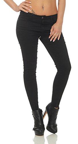 Noir Femme OSAB Jeans Fashion Slim 1xqqgIw
