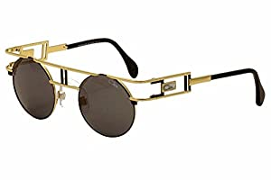 Cazal Men's Legends 958 302/SG Gold/Black Sunglasses 46mm