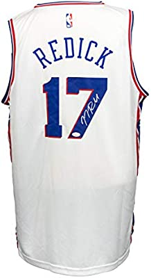innovative design 6741d 5c767 JJ Redick Signed Philadelphia 76ers Fanatics NBA White ...