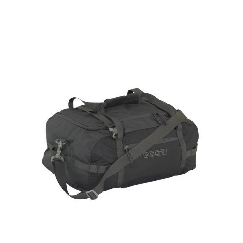Kelty Portage Duffel Bag, Medium, Raven
