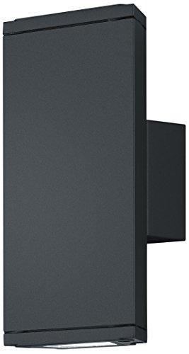 Trio Colorado - Aplique exterior con 2 luces, 3 W, color antracita