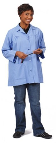 ceil-blue-size-medium-artist-smock-size-medium-pockets-poly-cotton-polin-82718