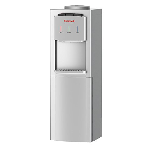Honeywell HWB1033S2 41-Inch Cabinet Freestanding Hot, Cold & Room Water Dispenser with Stainless Steel Tank to help improve water taste, Back Handle for EASIER HANDLING, (Water Tank Handle)