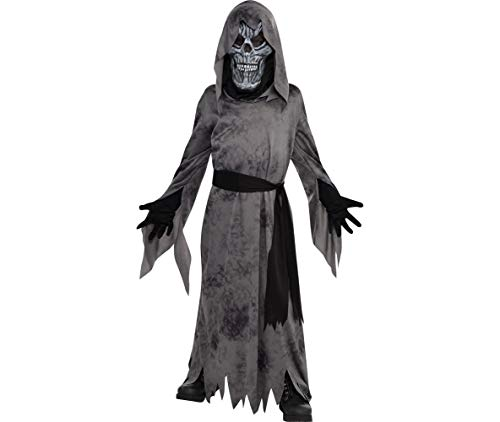 Amscan Ghostly Ghoul Halloween Costume for Boys, Extra Large, with Included Accessories