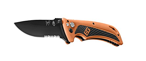(Gerber Bear Grylls Survival AO Knife, Assisted Opening, Drop Point [31-002530])