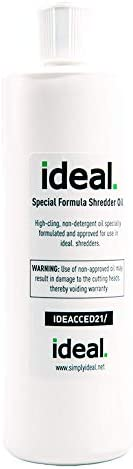 ideal. High-Cling Lubricating Shredder Oil 16 OZ Shredder
