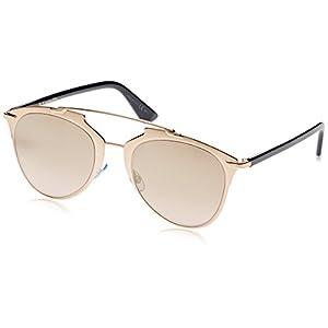 Dior Reflected/S 321 Copper Gold  Mirror Lens Sunglasses