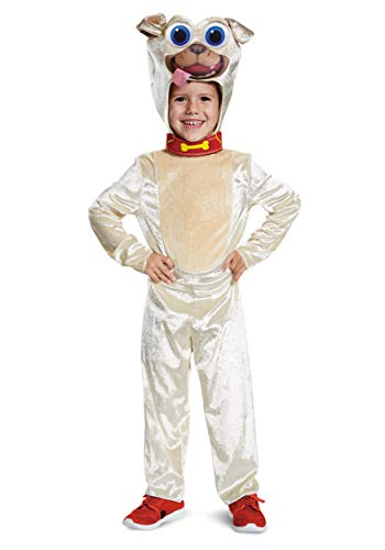 Disguise Rolly Classic Toddler Child Costume, Brown, Medium/(3T-4T) ()