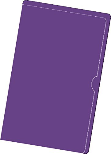 Paperwork Organizer / Paperwork Arranger, Legal Size, Purple, Package of 25 - (2 Packages) by Doctor Stuff