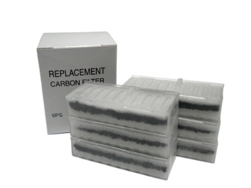 Filters for World's Best Smokeless Ashtray - Includes 6 Replacement Filters (Smokeless Ashtray Filters)