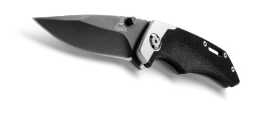 Gerber 30-000258 Drop Point Fine-Edge Contrast Clip Folding Knife, Outdoor Stuffs