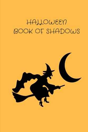 Halloween Book Of Shadows: 120 pages alternating spell & dot grid 6