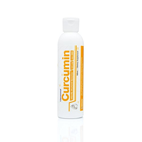 Valimenta Liposomal Curcumin | Made in USA | All Natural Ingredient Forms & Organic Manufacturing | Non-GMO & Non-Soy | 180ml | 6 oz. | 30 Servings