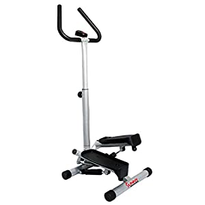 Sunny Health & Fitness Twist Stepper Step Machine w/Handle Bar and LCD Monitor NO. 059