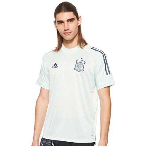 chollos oferta descuentos barato adidas Fef TR JSY Camiseta de Manga Corta Hombre Dash Green M
