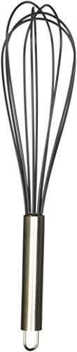 Cuisinart CTG-00-SWB12 Silicone Whisk, 12-Inch, Black (Whisk Silicone)