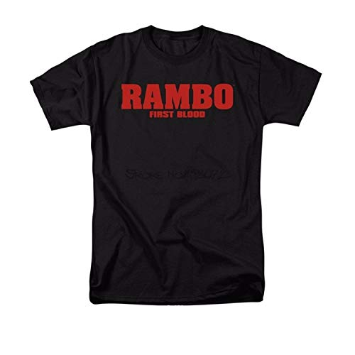 Rambo Shirt Cotton Collection 2 for Men Women T First Last Blood Tshirt Clothing Collectibles Gifts Dress