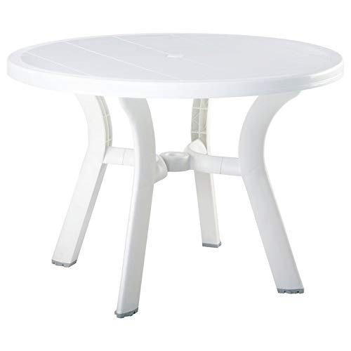 (Compamia Truva Resin Round Dining Table 42 Inch (29