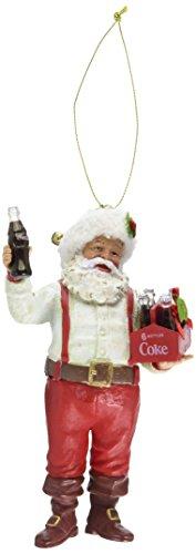 Kurt S. Adler Santa Holding Coca-Cola Ornament, 5-Inch, 6...