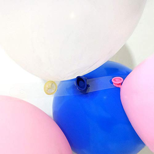 HAPIGOOD Theme Party Decorations Balloon 5m Balloon Chain Arch Connect Strip for Wedding Birthday Party Decor ()