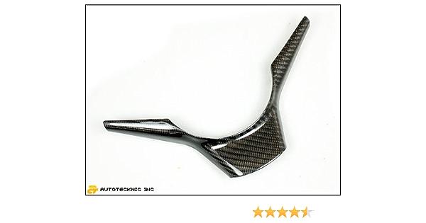 BMW 5 6 série E60 E61 E63 E64 cuir noir sport steering wheel trim