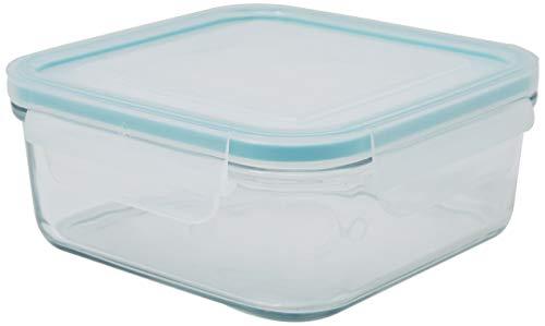 Glasslock Kit - Glasslock Airtight Break Resistant Glass Kitchen Food Storage Container, Lunch Box, Microwave Safe, 900ml
