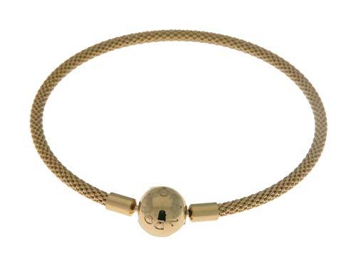 PANDORA Shine Mesh Bracelet, Size: 17cm, 6.7 inches - 566543-17
