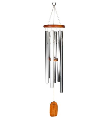 (Woodstock Chimes AGLS Amazing Grace Chime, Large, Silver Tubes)