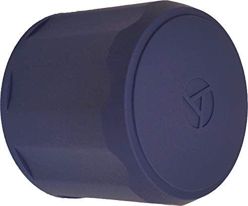 (LENS ARMOR - Protective Lens Cap - Universal, Stretch Fit - Element Proof (65-100mm, Blue))