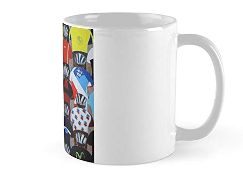 Hued Mia Mug Maillots 2016 Mug - 11oz Mug - Features wraparound prints - Dishwasher safe - Made from Ceramic - Best gift for family friends