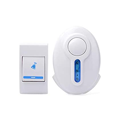 MLD Wireless Remote Control Plastic Door Bell (Colour and Design May Vary)