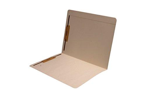 Folder Reinforced Tab Full Cut (14 pt Manila Folders, Full Cut Reinforced Top Tab, Letter Size, Fastener Pos #1 and #3 (Box of 50))