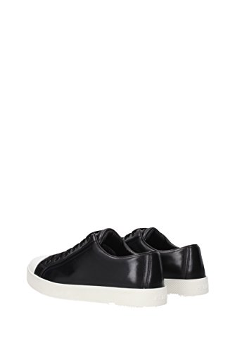 Prada In Pelle Nero Donne 3e6202vitellosoft Uk Sneakers EwfxEtqr