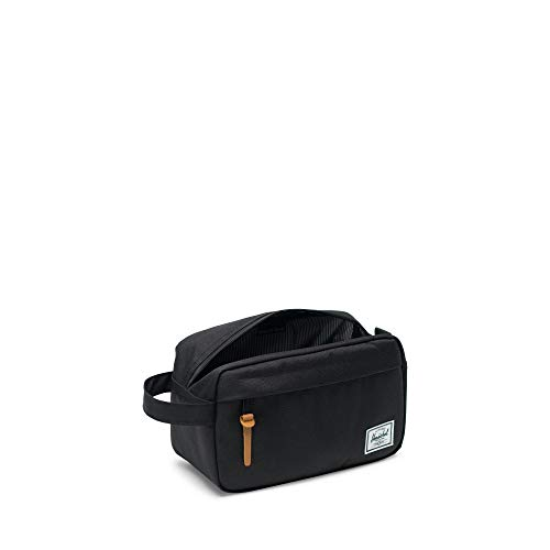 31IaVtrc1fL - Herschel Men's Chapter Travel Kit Bag-Black