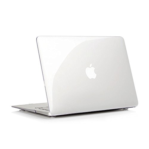 Ruban MacBook Air 13 Inch Case - Fits Previous Generations A1466 / A1369 (Will Not Fit 2018 MacBook Air 13 with Touch ID), Slim Snap On Hard Shell Protective Cover,Crystal Clear