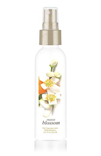 (Orange Blossom with Neroli Voted Best Orange Blossom Perfume Fine Fragrance Mist Body Exotics 3.5 Fl Oz 103 Ml ~ a Lush Heady True Orange Blossom Floral with Neroli Essential Oil)