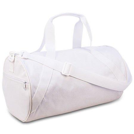 Liberty Bags Barrel Duffel OS WHITE