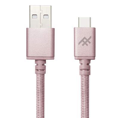Zagg Uniquesync Premium câble USB 1 m USB A USB C Or Rose - Câbles USB (1 m, USB A, USB C, 2.0, Male Connector/Male Connector, Or Rose)