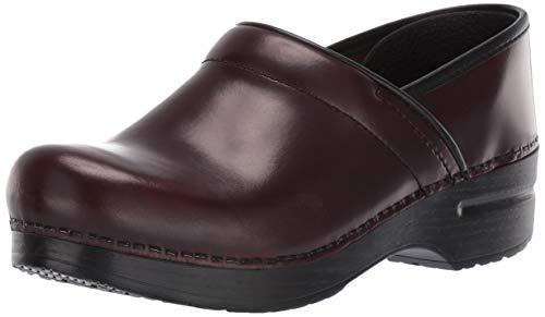 - Dansko Women's Professional Mule,Cordovan Cabrio Leather,41 EU/10.5-11 M US