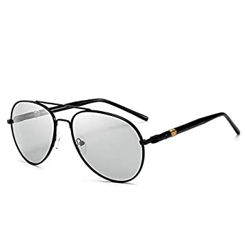 Y-WEIFENG Gafas de Sol polarizadas Que cambian de Color ...