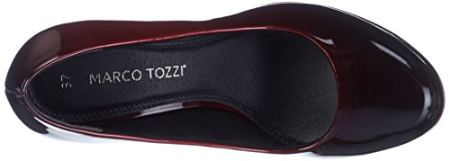 Zapatos Patcom de Mujer Tacón Rojo Marco para Merlot Tozzi 22410 qg6tRwzE