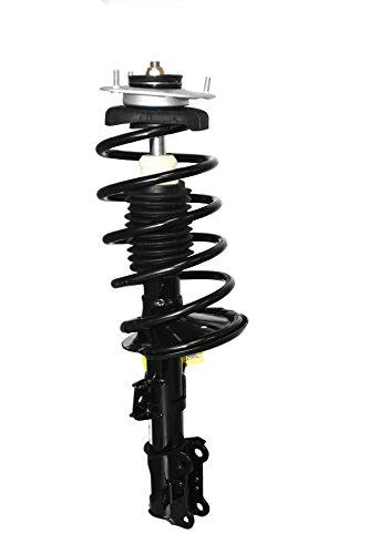 and Strut Mount Assembly Unity Automotive 15075 Complete Strut Rear Left Quick Spring