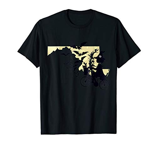 Maryland Halloween T-shirt for boys, girls and kids