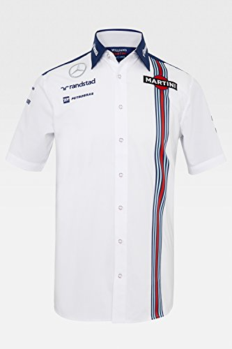 Williams Martini Racing Short-Sleeve Team Shirt 2015 - Racing Shirt Martini