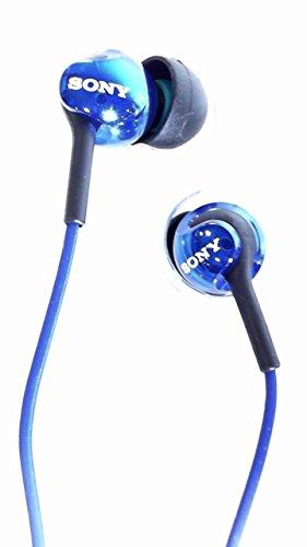 Sony MDREX110AP Step-Up EX Series Earbud Headset (Blue)