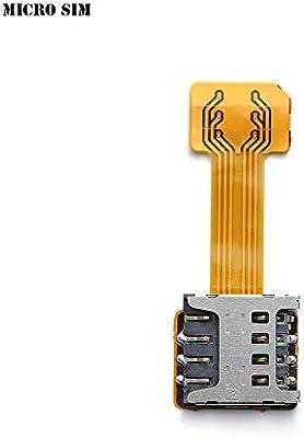 Adaptador de Tarjeta SIM Doble Universal TF Hybrid Sim, Micro SD ...