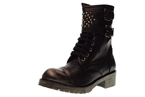 GIO CELLINI Zapatos de Mujer Anfibio Negro A229 Negro