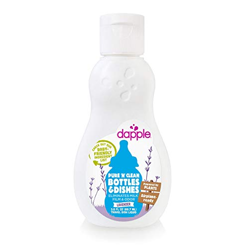 Dapple Baby Bottle and Dish Liquid